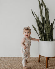 Load image into Gallery viewer, Tank romper - blushing floral