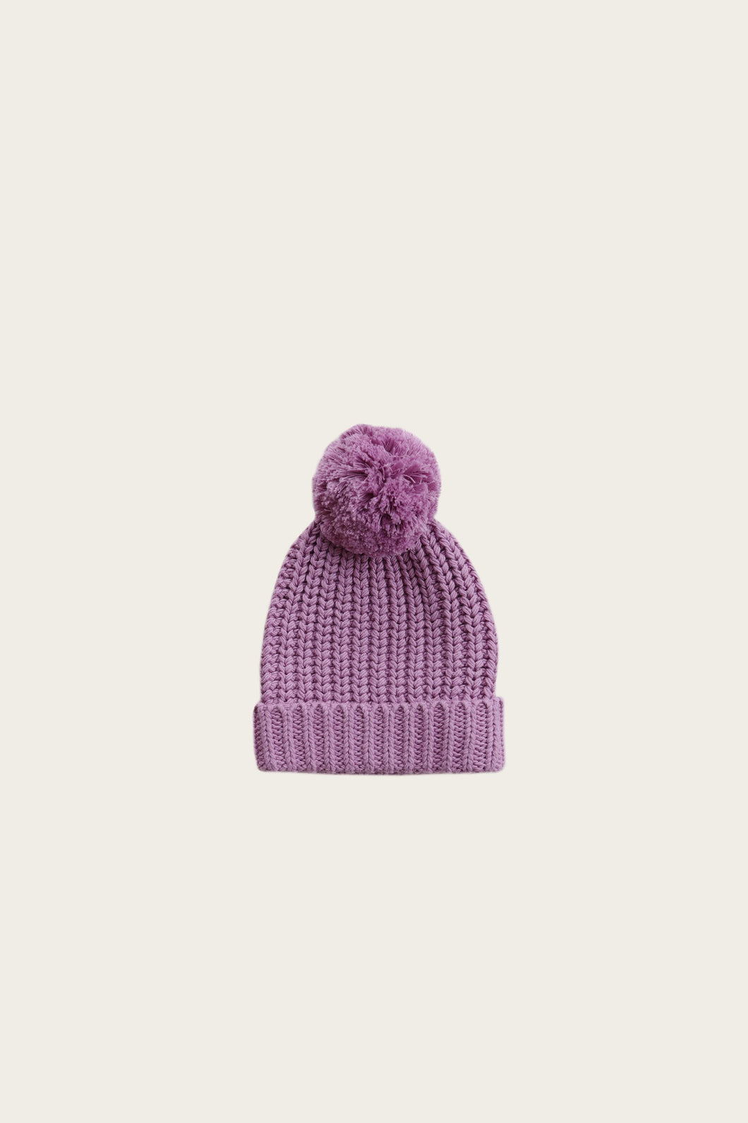 Jamie Kay cosy hat - grape