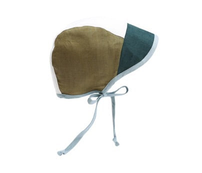 Briar brimmed color block bonnet - Explorer