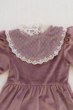 Load image into Gallery viewer, Fin & Vince heirloom dress - mauve