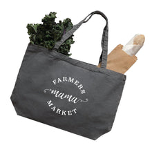 Load image into Gallery viewer, Farmers market mama tote bag
