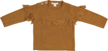 Load image into Gallery viewer, Frill pullover - harvest gold