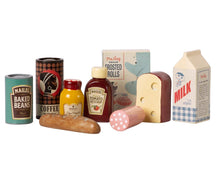 Load image into Gallery viewer, Vintage food, grocery box