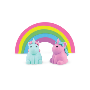 Unique unicorn strawberry scented erasers