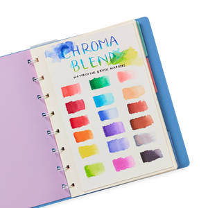 Chroma blends watercolor markers