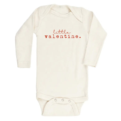 Little valentine long sleeve onesie / tee