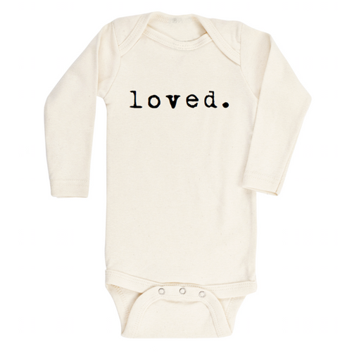 Loved. l/s onesie