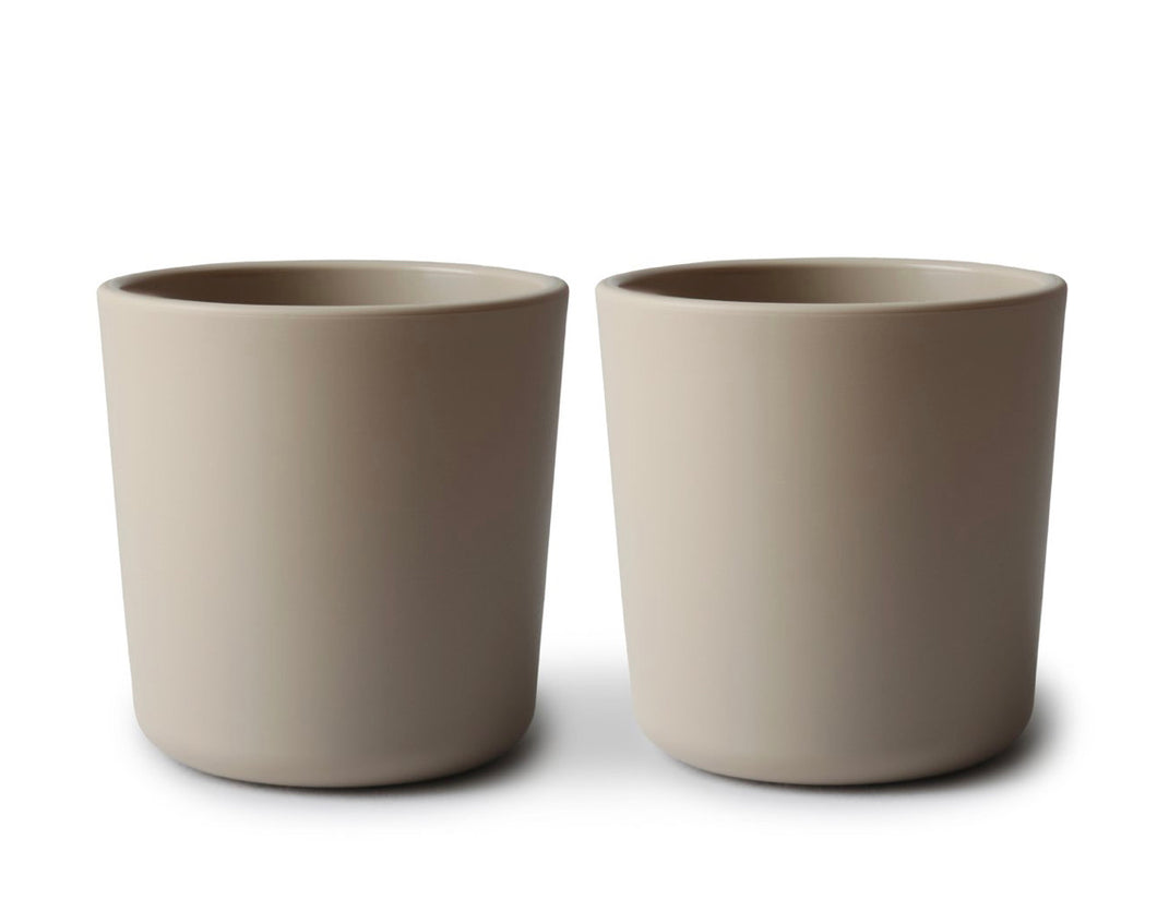 Dinnerware cup, set of 2 - vanilla