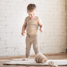 Load image into Gallery viewer, Organic vintage leggings - oatmeal