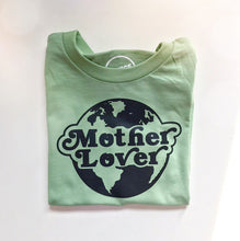Load image into Gallery viewer, Mother lover short sleeve onesie / tee - sage