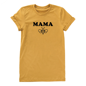 Mama bee unisex fit short sleeve adult tee