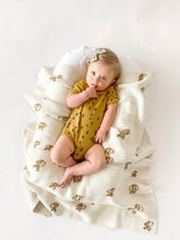 Load image into Gallery viewer, Fin & Vince bees onesie