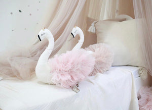 Swan princess in light pink