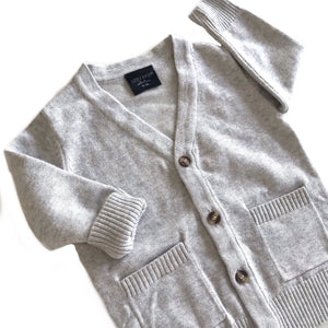 The perfect cardi - soft grey
