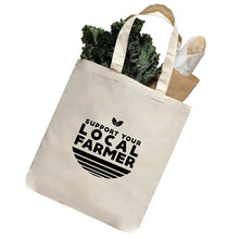 Load image into Gallery viewer, Local farmer tote bag