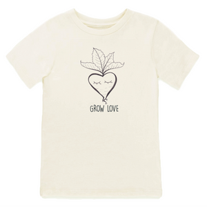 Grow Love short sleeve onesie / tee