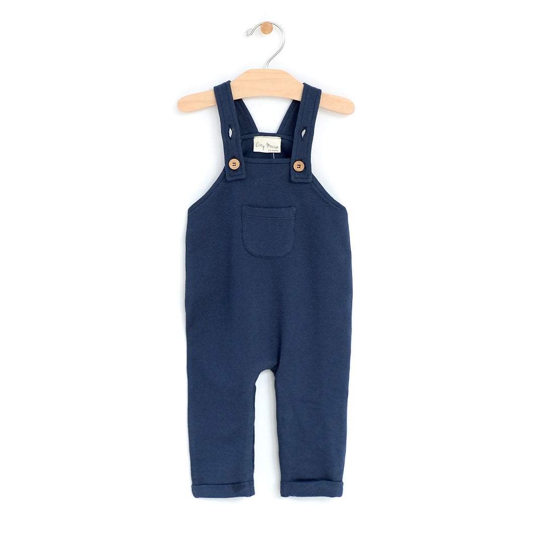 Light sweat overalls - midnight blue