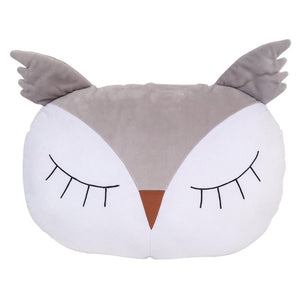 Sleepy owl pillow