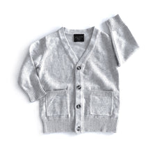 Load image into Gallery viewer, The perfect cardi - soft grey
