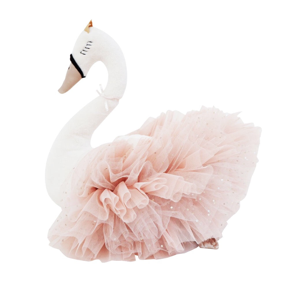 Swan princess in champagne
