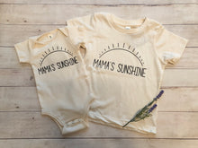 Load image into Gallery viewer, Mama's sunshine short sleeve onesie / tee