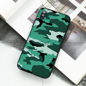 Military Pattern Phone Case