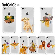 Load image into Gallery viewer, Ruicaica Cartoon Lion king Phone Case