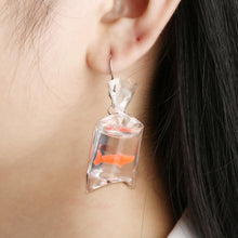 Load image into Gallery viewer, Goldfish Dangle Earring