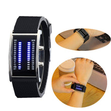 Load image into Gallery viewer, Double Row LED Electronic Watch