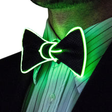 Load image into Gallery viewer, LED Wire Necktie Bow Tie