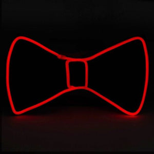 LED Wire Necktie Bow Tie
