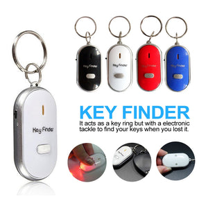 Mini Alarm Locator Track Key Ring