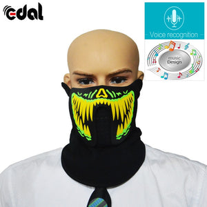 Voice-Activated Music Mask