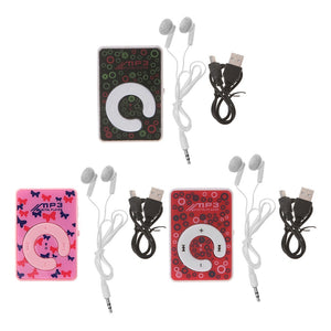 Mini Dot Circle Pattern Music MP3 Player