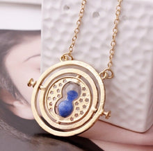 Load image into Gallery viewer, Potter Time Turner Hourglass Necklace Toy