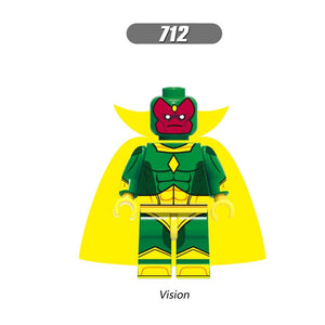 Legoed Ninjaed Mini Building Blocks