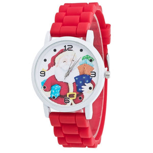 Christmas Casual Lovers'  Wrist Watche