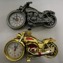 Load image into Gallery viewer, Decorative Motorcycle Alarm Clock