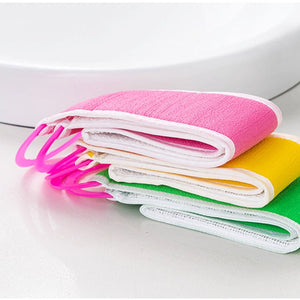 Double-sided Back Mud Towel