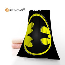 Load image into Gallery viewer, Custom Batman Face Towels