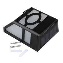 Load image into Gallery viewer, Wall Mounted LED Solar Light