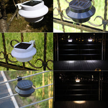 Load image into Gallery viewer, Solar Powered Security Fence Lights