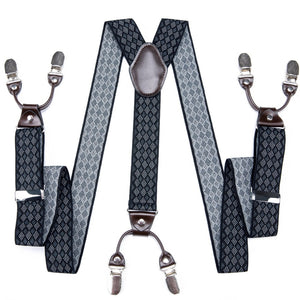 Elastic Adjustable Suspenders