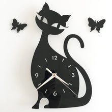 Load image into Gallery viewer, Cat Wall Clock
