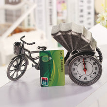 Load image into Gallery viewer, Retro Rickshaw Design Alarm Clock