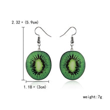 Load image into Gallery viewer, Cute Fruit Earrings