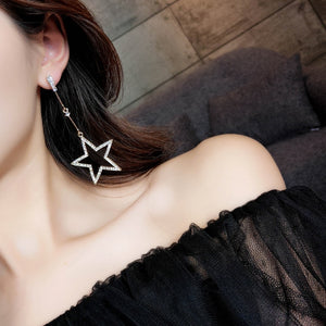 Star Hanging Earrings