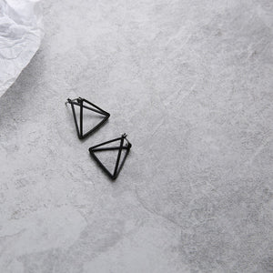 Minimalist Punk Earrings Set