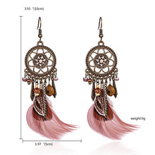 Load image into Gallery viewer, Tassel Dangle Long Earrings