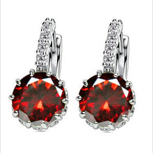 Load image into Gallery viewer, Zircon Drop Earring
